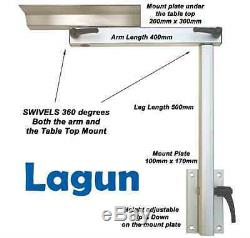Lagun Marine Boat RV Motorhome-Swivel & Adjustable Height Cockpit Table Pedestal