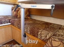 Lagun Table Mount RV Caravan Swivel & Adjustable Height Table Pedestal NEW