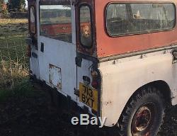 Land Rover Series 2 (not 2a) Swb Petrol For Restoration