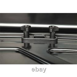 Large 420 Litre Car Roof Box Summit Gloss Metallic Cargo Luggage Travel Top Box