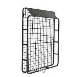Large Black Aluminium Roof Rack Basket Tray Luggage Cargo Carrier with Bars XL