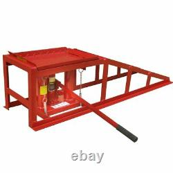 Lifting Ramps With Integrated Jacks, Max 4 Tons, Set Of 2 Pieces
