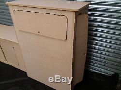 MDF Camper Campervan Interior Kitchen Cupboard For Sink Hob VW Vivaro Transit