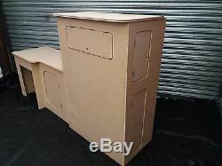 MDF Camper Campervan Interior P Top Kitchen Cupboard For Sink Hob Fridge VW