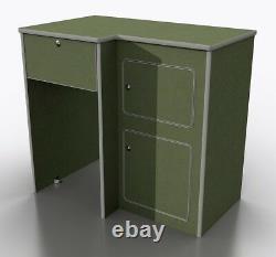 MDF Camper Van furniture kitchen pod / LH SMEV 9722 hob / CRX50 fridge (POD-023)