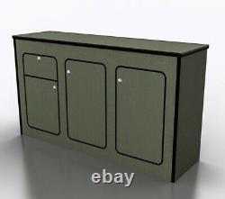 MDF Camper Van furniture kitchen pod (POD-040)