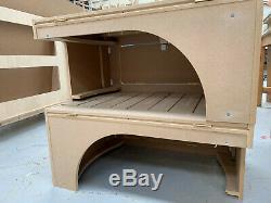 MDF Sliding Camper Van Beds Sofa Bed for VW T4 T5 T6 Vivaro & Transit Campers