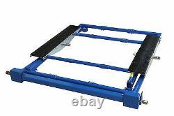 MOBILE SCISSOR LIFT / TILTING CAR LIFT RAMP / ADJUSTABLE WIDTH /1500Kg Capacity