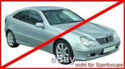 Mercedes W203 S203 Scheinwerfer Klarglas Xenon Optik 00-04 Facelift Design DEPO