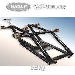 Mobile Kurzhub Scheren Hebebühne 2500kg Spengler-Lackiererbühne Wolf-Germany