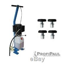 Mobile Scherenhebebühne (DSLP 6062) bis 2,8t Farbe blau, 220V, 5L Öl