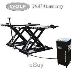Mobile Scherenhebebühne Hebebühne 3000KG Wolf Germany