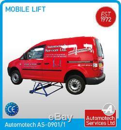 Mobile Scissor Lift / Tilting Car Lift Ramp / MID Rise