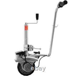 Motorised Jockey Wheel Solid Wheel 12v Electric Caravan Trailer Mover 2270kg