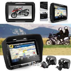 Motorrad Navi GPS Biketrip Lkw Auto Navigationsgerät 4,3 Zoll Reise 46 Länder