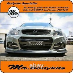 Mr. Front Lip Splitter For Holden Commodore VF Series 1 S/SS/SV6 Front Bumper