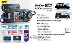 Nextbase DUO Commercial Car Dash Dashboard Video Dual Camera 2 720P HD DVR Cam