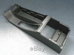 Original BMW E46 Mittelkonsole - NEU - Mittelarmlehne schwarz