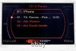 Original Kufatec BLUETOOTH Media MMi 2G für Audi A4 B8 A5 8T A6 4F Q5 8R Q7 4L