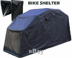 Outside Bike Barn Motorcycle Storage Driveway Motorbike Shelter Garage Shed