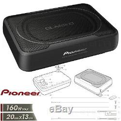 PIONEER TS-WX130EA AKTIV SUBWOOFER 160W kompakt platzsparend leistungsstark Bass
