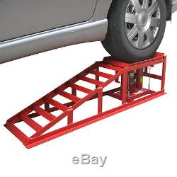 PKW Auffahrrampe 2 Stück Rampe höhenverstellbar KFZ Wagenheber 2000kg Tragkraft
