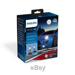 Philips X-treme Ultinon LED Scheinwerfer H4 Xtreme 11342XUWX2 Vision Twin 5800K