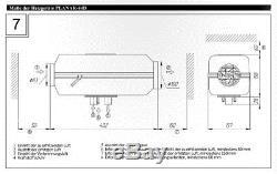 Planar 44D-12 4kW Diesel-Standheizung / Luftheizung ä. Webasto, Eberspächer 12V