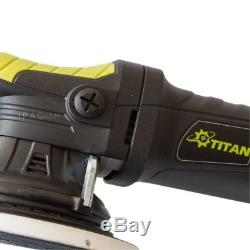 Poliermaschine Titan Dual Action TDA21 Exzenterpoliermaschine mit 21mm Hub