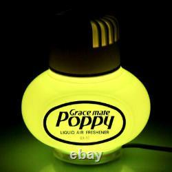 Poppy Lufterfrischer Jasmin Duft mit USB 5V 7 LED Beleuchtung LKW Auto KFZ Bus