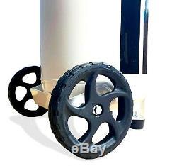 Portable 50 Litre Air Compressor Oil Free Vertical Tank 2HP 10 BAR CFM 50L 240v