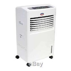 Portable 8L 70W Air Cooler Unit & Remote Control Flow Swing Conditioning Fan