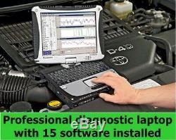 Professional Diagnostic Laptop 15 car diagnostic programs already installed