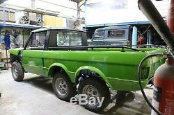 RANGE ROVER 6x6 Classic Pickup Truck Kit Project LAND ROVER