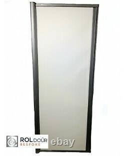 Retractable Roller Sliding Shower Door Campervan RV Any Size Made To Order