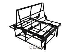 Rock and roll bed upholstered 3/4 T4 T5 bongo transit vivaro camper vito, belts