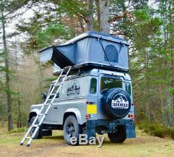 Roof Cabin Hard Shell Car Roof Tent UK fit's all vehicles, land rovers & 4x4's
