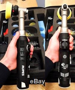 Rupes Ibrid Nano Long Neck Big Foot Polisher Hybrid For Car Detailing Detail