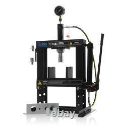 SGS 10 Tonne Workshop Bench Hydraulic Press With Mandrels