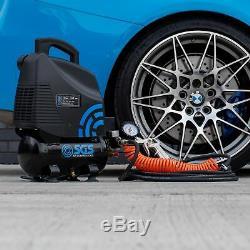 SGS 6 Litre Oil-Less Direct Drive Air Compressor 5.7CFM, 1.5HP, 6L