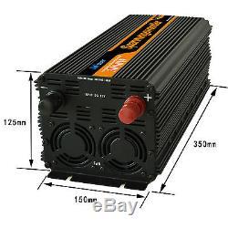 SPANNUNGSWANDLER 3000W 6000 WATT 12V 230V Softstart WECHSELRICHTER
