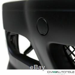 SPORT Stoßstange vorn passt für BMW E46 Coupe Cabrio + Set Nebel Klarglas für M3