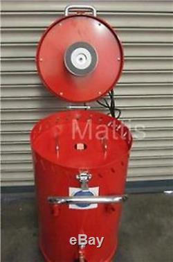 Sand Blast Pot. 28 Gallon Abrasive Sand Blaster with Built in Vacuum