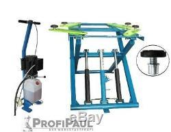 Scherenhebebühne (DSLP 6062) bis 2,8t Farbe blau-grün, 220V, 5L Öl