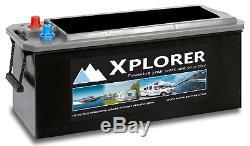 Sealed Calcium Xplorer 220 Ah Leisure Battery. Huge Power Store