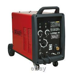 Sealey Professional MIG Welder 180Amp 230V with Binzel Euro Torch SUPERMIG180
