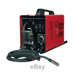 Sealey SUPERMIG130 MiniMIG MIG Welder 130Amp 230V Machine Regulator Spool & Tips