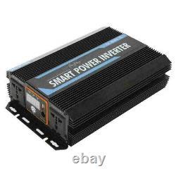 Sine Wave Car Power Inverter 4000W Peak DC 12V to 240V AC Converter UK