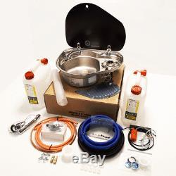 Smev 8821l Sink And Hob Full Installation Kit For Campervan Motorhome