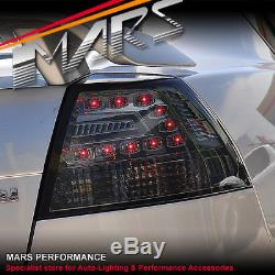 Smoked LED Tail Lights Holden Commodore VE Sedan Omega SV6 SS SSV Lumina E1 E2
